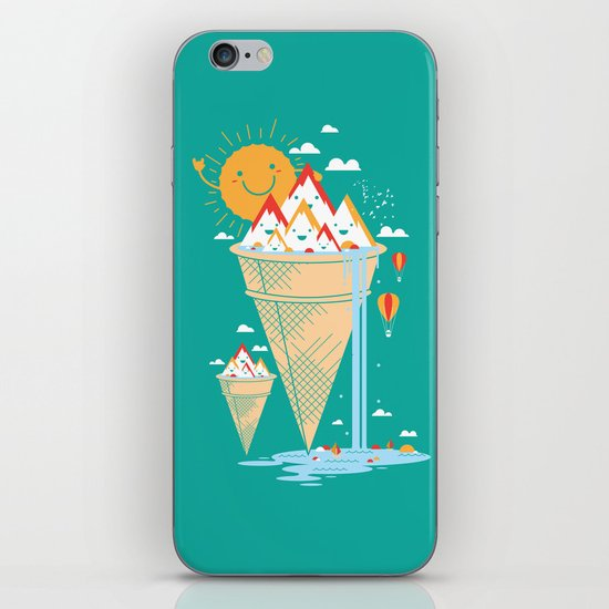 mystery island iPhone & iPod Skin