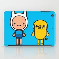 #48 Jake and Finn iPad Case