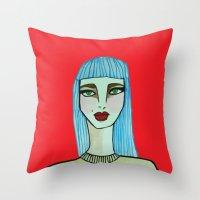 Beatle  Throw Pillow