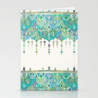 Art Deco Double Drop In … Stationery Cards