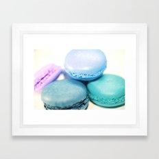 Macarons / Macaroons Framed Art Print