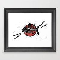 Tunafish Framed Art Print
