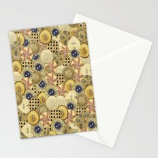 Covered in Buttons Stationery Cards