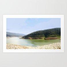 Thomson Reservoir  Art Print