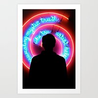 Hypnotized  Art Print