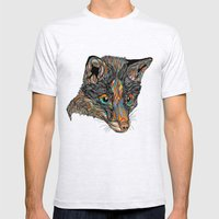Fox (Feat. Bryan Gallardo) Mens Fitted Tee Ash Grey SMALL