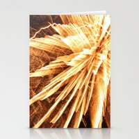 Fire burst Stationery Cards