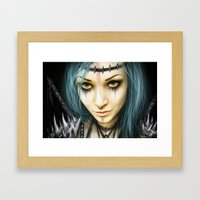 Unstoppable: A Vampiric … Framed Art Print