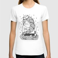 Amour Éternel (Elle) Womens Fitted Tee White SMALL