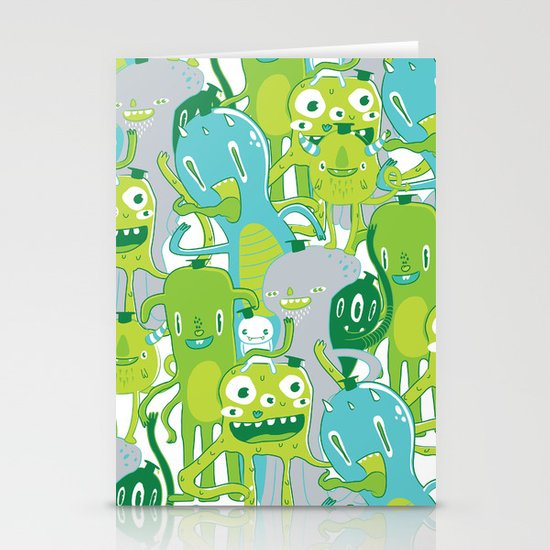 Done with Monster School! Stationery Card