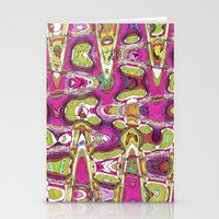 Funky Love Stationery Cards