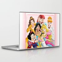 lady Laptop & iPad Skins featuring Smile for the Camera by Brianna