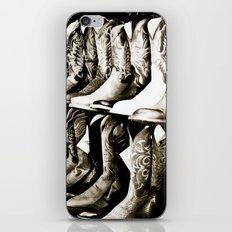 Cowboy boots  iPhone & iPod Skin