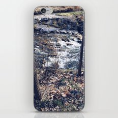 Standing by the river iPhone & iPod Skin
