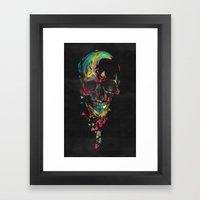 broken n.3 Framed Art Print