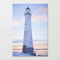 The Lighthouse. Canvas Print