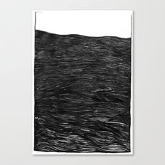 water at night Canvas Print