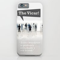 iPhone & iPod Case featuring The Vicar by Christina Kouli | ilprogetto