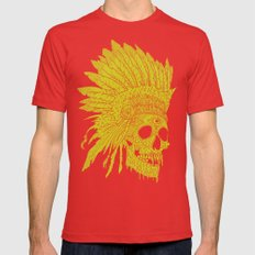 Kid Chief Mens Fitted Tee Red SMALL