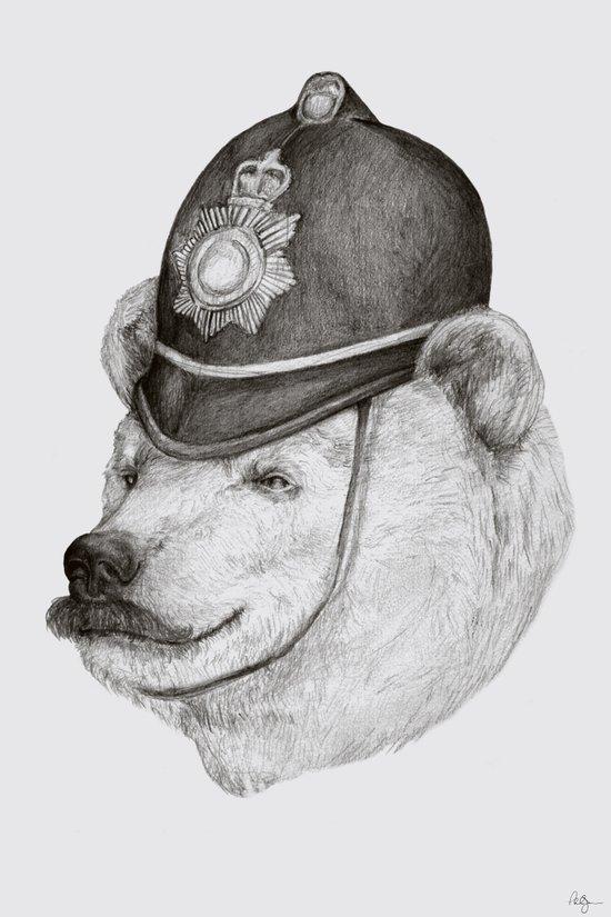 Bearly Legal Canvas Print