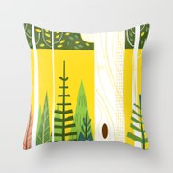 Throw Pillow featuring Joyful Trees by Josh Cleland