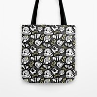 Classic Horror Halloween Tote Bag