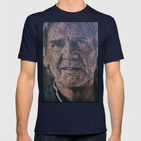 Heroes Just For One Day Mens Fitted Tee Navy SMALL