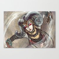 Zodiac Sign: Aries Canvas Print