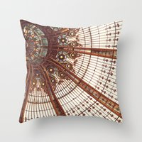 Splendor In The Glass Throw Pillow