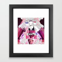 Born This Way - Be Stron… Framed Art Print