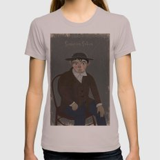 Portrait Womens Fitted Tee Cinder SMALL