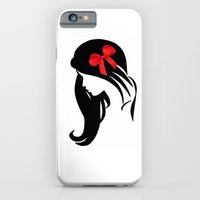 iPhone & iPod Case featuring LADY WHITE VII by Ylenia Pizzetti