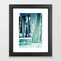 Waterfalling. Framed Art Print
