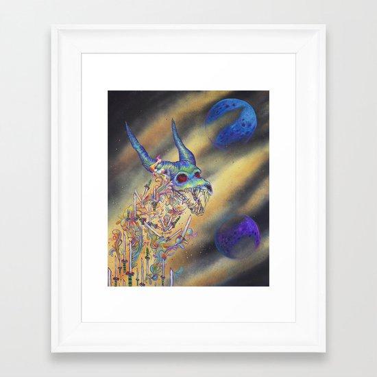 Dweller Framed Art Print
