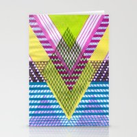 Isometric Harlequin #7 Stationery Cards