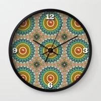 Panoply Pattern Wall Clock