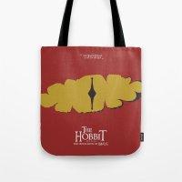 The Hobbit - the Desolation of Smaug - Minimal Movie Poster Tote Bag