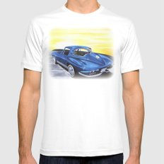 Dads Toy White Mens Fitted Tee SMALL