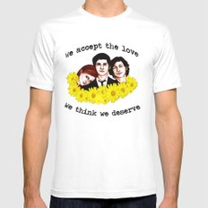 Perks of being a Wallflower Mens Fitted Tee White SMALL