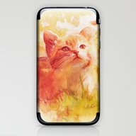 iPhone & iPod Skin featuring Sun Kissed by Aurora Wienhold