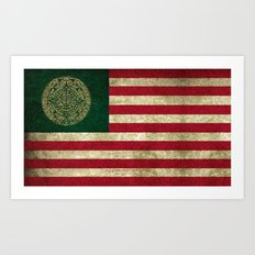 MEXICAN AMERICAN - 030 Art Print