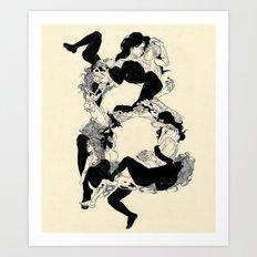 Just B(odies) Art Print