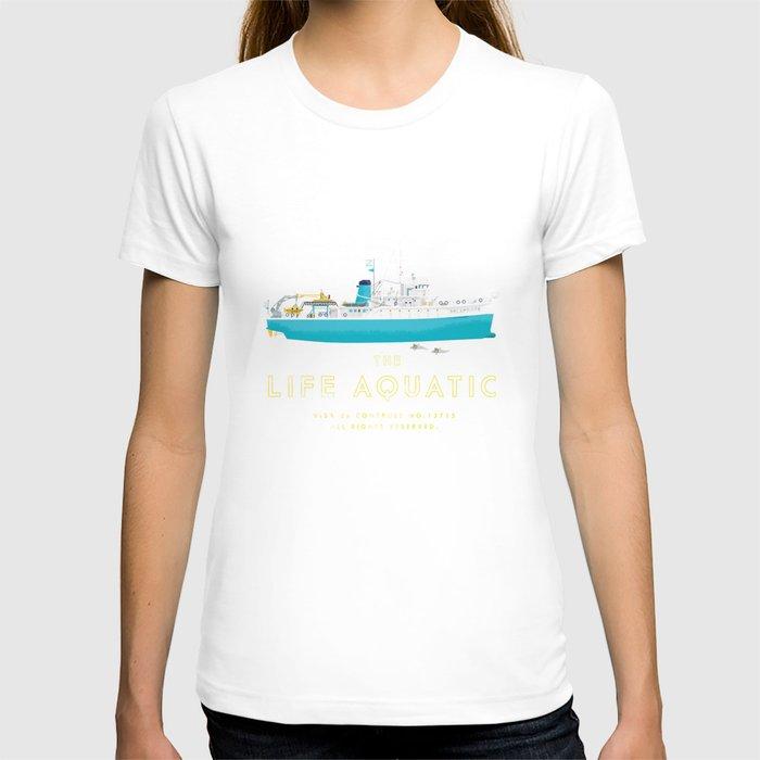 The Life Aquatic with Steve Zissou T-shirt by Steeeeee ...