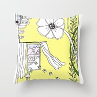 Inspiration and Dreams Throw Pillow