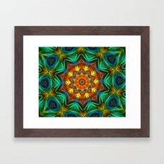 Mandala - Soul Live Framed Art Print