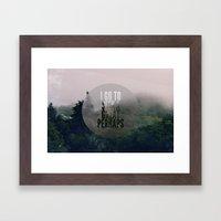 Great Perhaps Framed Art Print