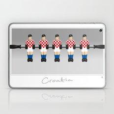 table football - Croatia Laptop & iPad Skin