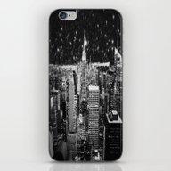 Starry Night In New York iPhone & iPod Skin