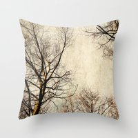 paint the sky with branches Throw Pillow