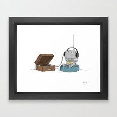 Little Robot  Framed Art Print